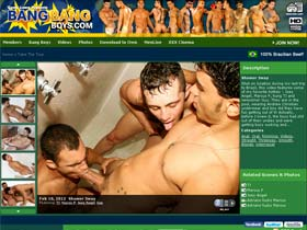 Welcome to Bang Bang Boys - hot guys in gay action!